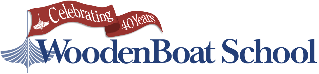 The WoodenBoat School logo