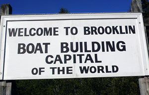 Brooklin sign