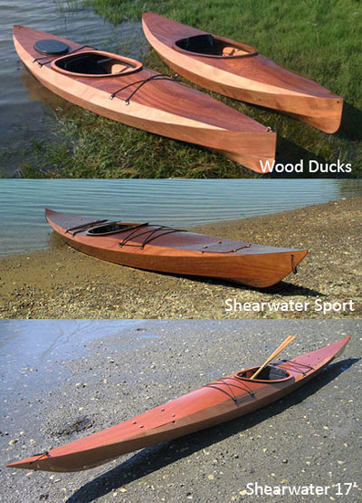 Stitch and Glue Kayaks Baidarka submited images.
