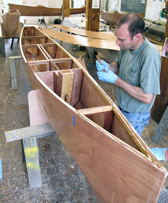 plywood duck boat plans