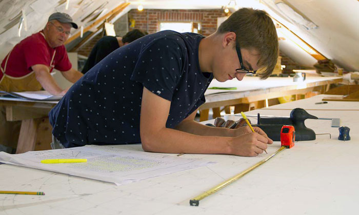 Studying at the WoodenBoat School