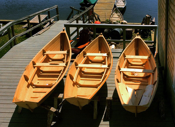 Building the Amesbury dory-skiff