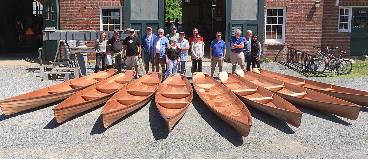 Building an annapolis Wherry