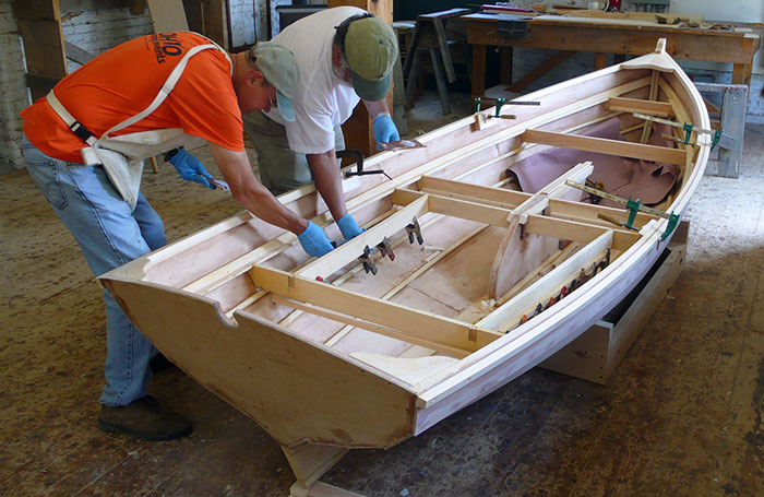 Building the Penobscot 13