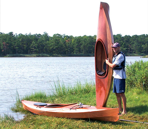 Wood Duck Kayaks.