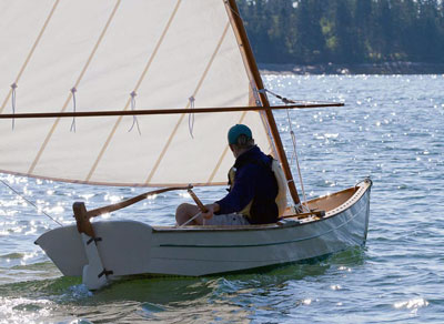 The WoodenBoat School fleet of small boats